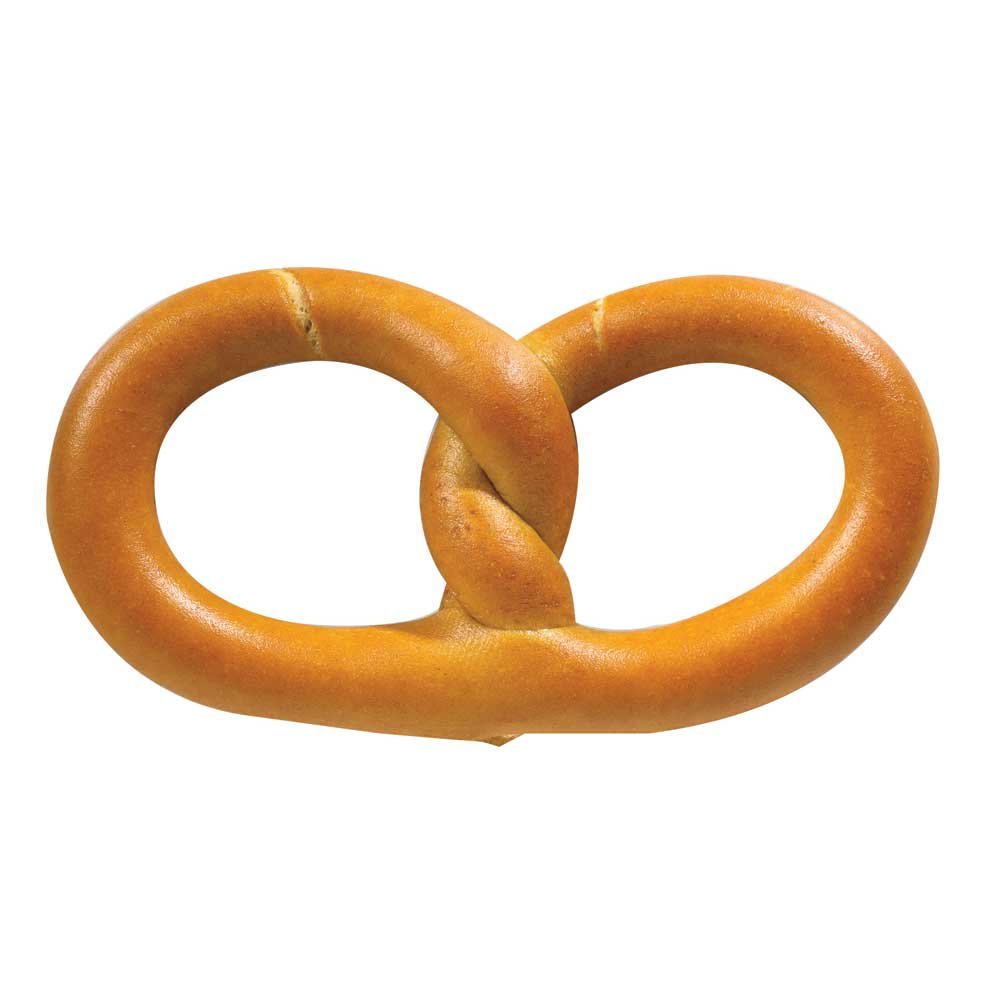 SuperPretzel 51 Percent Whole Grain Philadelphia Style Soft Pretzel, 3 Ounce -- 75 per case.