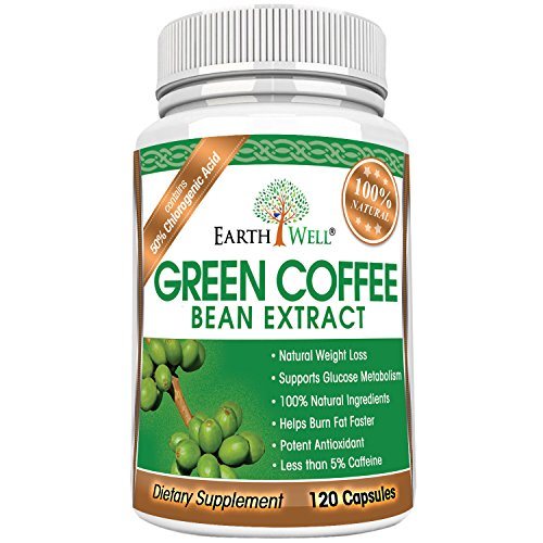 Green Coffee Bean Extract - Best Natural Weight Loss Supplement and Appetite Suppressant - Burn Fat Faster with Premium Quality Dietary Pills - 50% Chlorogenic Acid - 800mg - Pure and Clinically Proven - 120 capsules by CovertSafe (Image #7)