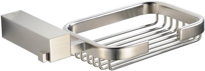 Amazon Com Fresca Bath Fac0409bn Ottimo Soap Basket Brushed Nickel Home Improvement