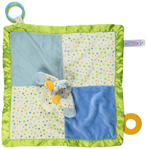Giraffe Polka Dot Blankets - Mary Meyer Little Stretch Giraffe Activity Character Blanket