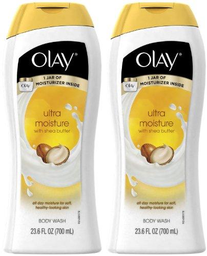 (Olay Ultra Moisture Moisturizing Body Wash with Shea Butter - 23.6 oz - 2 pk)