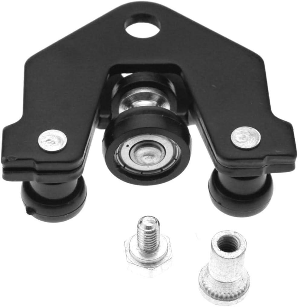 SALAKA Guía Deslizante para Puerta y bisagra Inferior/Izquierda Compatible con Opel Vivaro Lado Izquierdo Puerta Deslizante Juego de guía: Amazon.es: Hogar