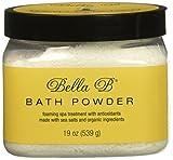 la belle b supply - Bella B Naturals Bath Powder, 19 Ounce