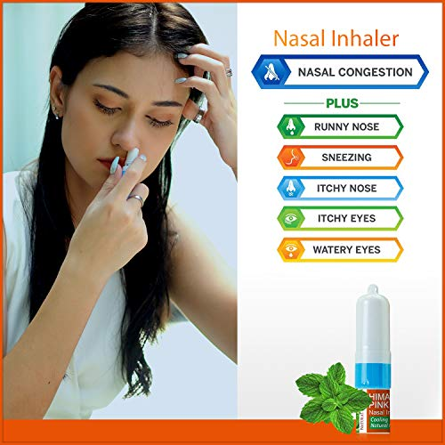 51E9yueQ25L - Natural Solution Organic Personal Care Travel Gift Set 2 Items | Nasal Inhaler and Ceramic Salt Inhaler