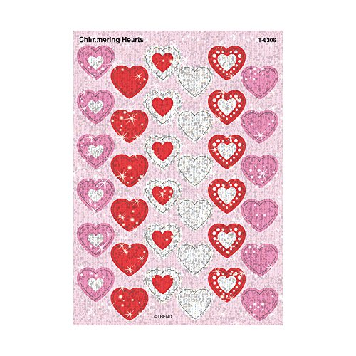 (Shimmering Hearts Sparkle Stickers®)