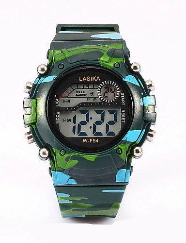 tres relojes digitales de color, mesa de camuflaje, actividad de agua, reloj , blue: Amazon.es: Relojes