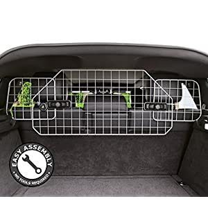 Dog Barrier for SUV's, Cars & Vehicles, Heavy-Duty - Adjustable Pet Barrier, Universal Fit 5