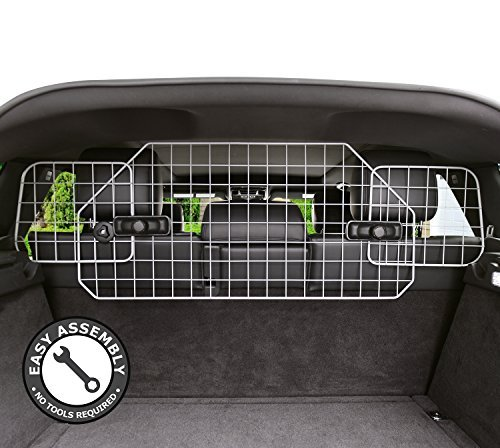 (Dog Barrier for SUV's, Cars & Vehicles, Heavy-Duty - Adjustable Pet Barrier, Universal Fit)