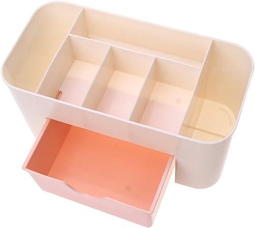 huamaojiancai - Estuche de Maquillaje Multiusos para Mujer, con cajón, para cosméticos, Perfume, Joyas, Conveniente: Amazon.es: Hogar