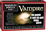 Magnetic Poetry - Vampire Kit - Words for Refrigerator - Write Poems and Letters on the Fridge - Made in the USA