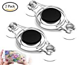 Touchscreen Game Joystick Game Rocker Gamepad Mini Controller Joypad for Smart Mobile Phone and Pad Tablet (2 pack) Review