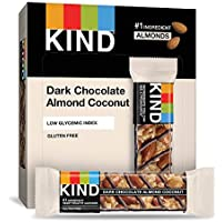 Kind 12-Count of 1.4 Ounce Dark Chocolate Almond Coconut, Gluten Free Bars