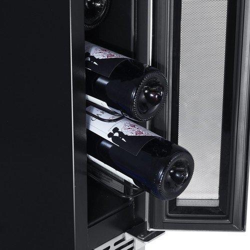 Edgestar 6 Inch 7 Bottle Built In Wine Cooler Food