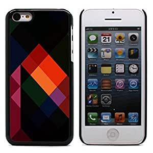 Graphic4You COLOR TRIANGLES PATTERN HARD CASE COVER FOR APPLE IPHONE 5C