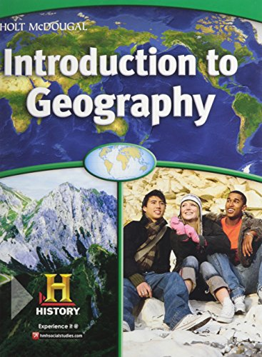 World Regions: Introduction to Geography: Student Edition 2012