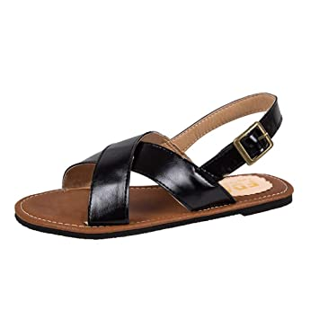 1005c80137b1f Amazon.com: ❤ Sunbona Women's Flat Sandals Ladies Summer Fashion ...