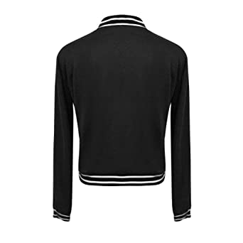be88037a9e24 NINGSANJIN Sweatshirt Femme sport Sweat-Shirt Col V Profond Zippé Devant à Manche  Longue Sweat-Shirt raye Top Mince Printemps Automne  Amazon.fr  Epicerie