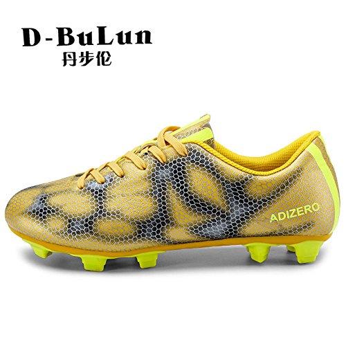 Xing Lin Botas De Fútbol Nuevos Zapatos De Fútbol Zapatos De Fútbol Zapatos De Fútbol Césped Spike gold