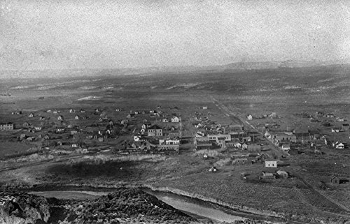 Vale, Oregon Birds Eye View of Town Photograph (12x18 for sale  Delivered anywhere in USA
