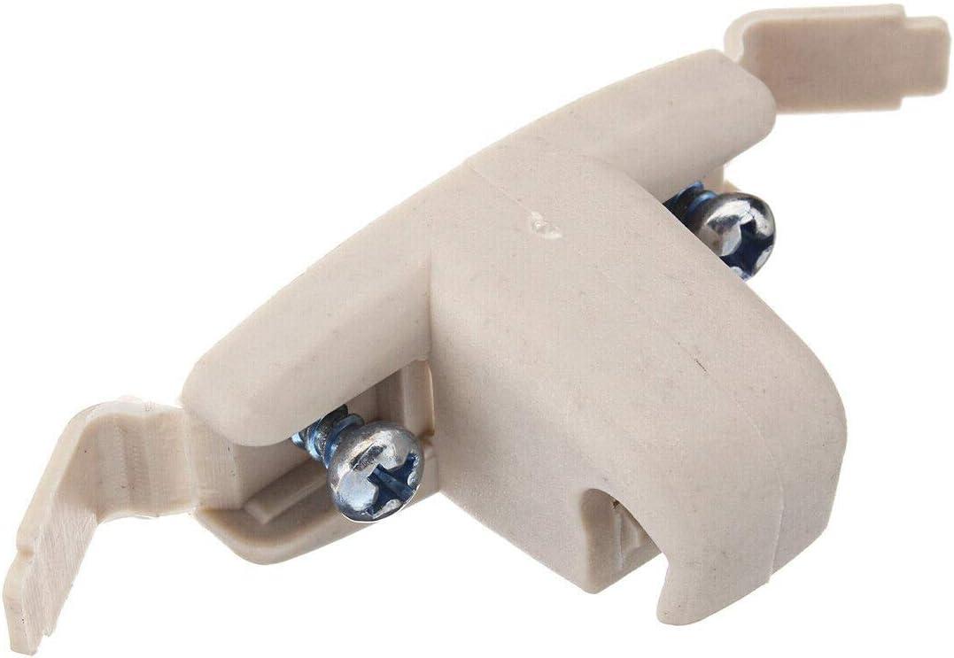 ACAMPTAR 2X Support de Clip de Pare-Soleil Beige 51168243575 pour E46 3 S/éRies 325 M3