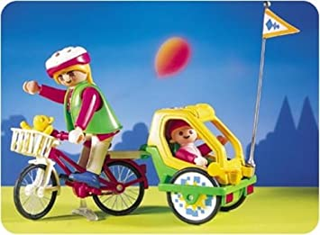 B Playmobil City Life Fahrrad mit Anhänger Set 3068 andere Figuren