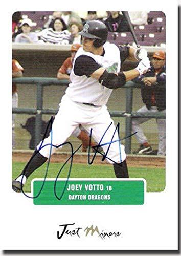 - Joey Votto Rookie Cincinnati Reds Dayton Dragons 2004 Certified AUTOGRAPH RC