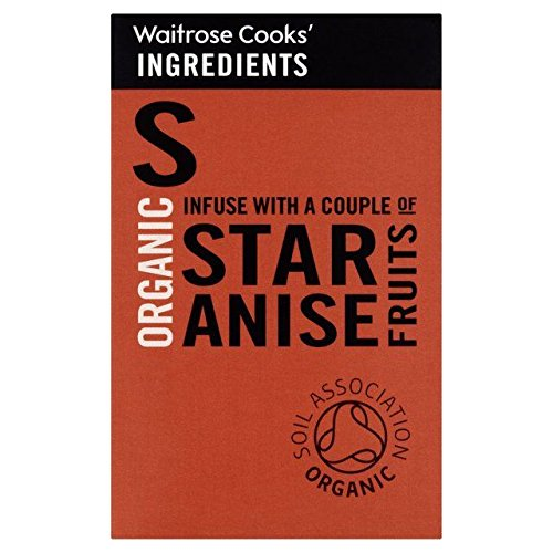 Cooks' Ingredients Organic Star Anise - 12g (0.03lbs)