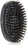 Kent Brushes Oval Ebony Wood Hairbrush, 6 Ounce