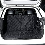 Cargo Liner Cover, OUTAD Waterproof and Non Slip Backseat Dog Seat for SUV, Trunks, Adjustable Universal Fit for Any Animal (57.1×53.9 inch)
