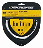 Jagwire Road Pro Complete Shift and Brake Cable Kit White, One Size