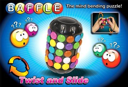 Dzine Baffle 3D Puzzle - Twist And Slide