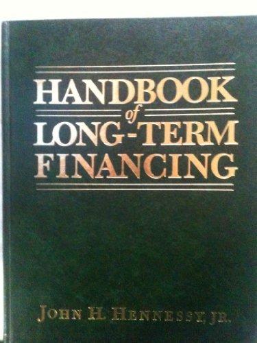 Handbook Of Long Term Financing