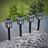 Sogrand 8pcs-Pack Solar Lights Outdoor,Solar Light,Landscape Lighting,Solar Pathway Lights,for Lawn,Patio,Yard,Walkway,Driveway,Pathway,Garden,Landscape