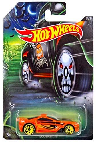hot wheels halloween orange scorcher 5 of 8 -