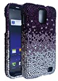 DeBari Gradient Purple Rust Case for Samsung Galaxy S II Skyrocket SGH-i727 / Samsung Galaxy S II 4G LTE SHV-E110S / SGH-I727R