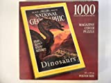 National Geographic Magazine Cover Puzzle: The Mongolian Saurolophus Dinosaur: Vol. 183, No. 1, January 1993 by Parker Brothers by Parker Brothers
