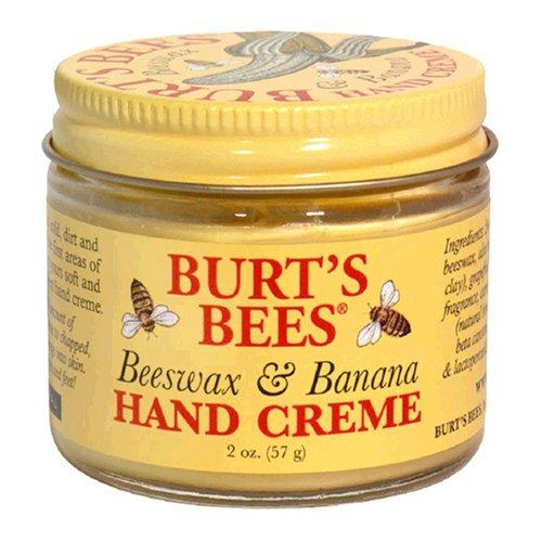 [Burt's Bees Beeswax and Banana Hand Creme, 2-Ounce Jar] (Hand Cream 2 Oz Jar)