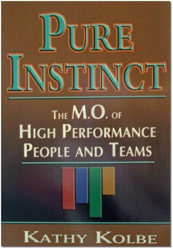 Pure Instinct [Kathy Kolbe] (Tapa Blanda)