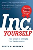 Inc. Yourself, 11th Edition, Judith McQuown, 1601633017