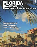 Florida Real Estate Principles, Practice and Law, George Gaines and Linda L. Crawford, 0793141133