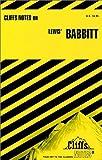 Babbitt, Cliffs Notes Staff, 0822002191