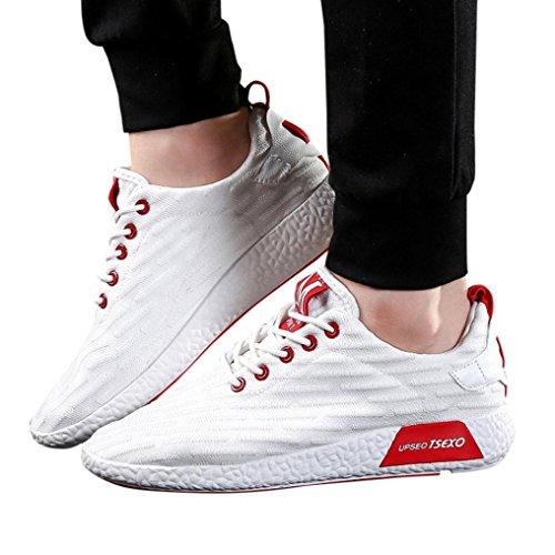 Uomo Ginnastica Uomo Bianca Scarpe Lavoro Scarpe Moda Scarpe Uomo Corsa da Scarpe Sneakers estive da da beautyjourney Running Sportive Uomo da Uomo Ginnastica Scarpe Scarpe Uomo x64HxISq