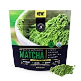 Matcha Green Tea Powder, Organic - Authentic Japanese Origin, Superior Quality, Classic Culinary Grade (Smoothies, Lattes, Baking, Recipes) - Antioxidants, Energy - Jade Leaf Brand [30g Starter Size]