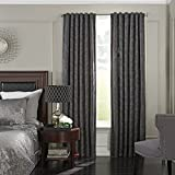 Beautyrest 16204052063PWT Germaine 52-Inch by 63-Inch Blackout Single Window Curtain Panel, Pewter