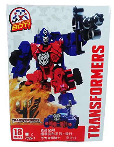 Transformers Age of Extinction Optimus Buildable Action Figure