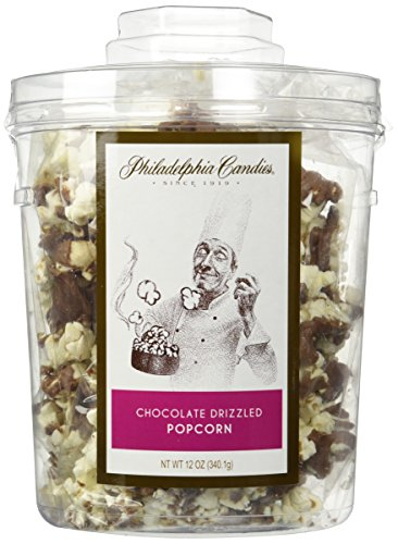 Philadelphia Candies Milk Chocolate Drizzled Popcorn, 12 oz. Gift Tub