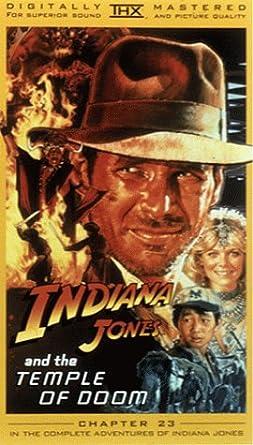 c5538f3fe Amazon.com: Indiana Jones and the Temple of Doom [VHS]: Harrison ...