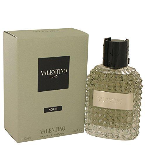 Valentino Uomo Acqua for Men Eau De Toilette Spray 125 ml/4.2 Ounce