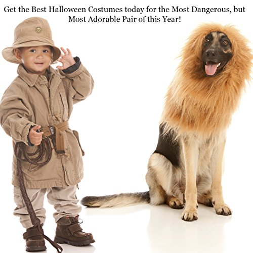 SunGrow-Lion-Mane-Costume-with-Ears-for-Big-Dogs-Cats-Get-your-pet-dressed-up-in-the-cute-adorable-mane-ever-Perfect-for-Halloween-Costume-Parties