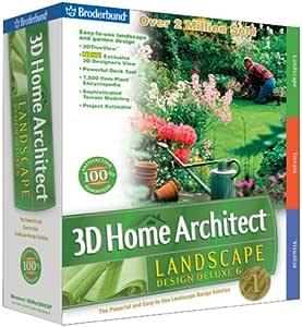 Amazon.com: 3D Home Architect Landscape Design Deluxe 6